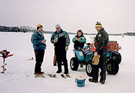 Wisconsin vacation resort cabin and cottage rentals at for Wisconsin ice fishing resorts