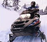 Snowmobiling at Flambeau Resort